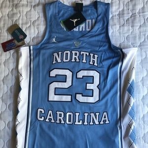 New Nike North Carolina Jordan Jersey Embroidered